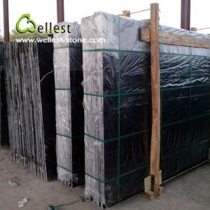 China Natural Black Marquina Marble Slab with Best Price pictures & photos