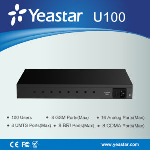 Yeastar 1u Rack Mount up to 100 Users Hybrid IP PBX pictures & photos