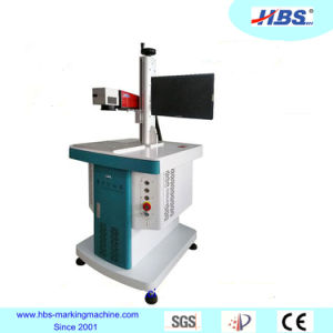 Metal Plastic Marking 30W Fiber Laser Marking Machine with Raycus Laser Source pictures & photos