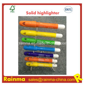 Factory Wholsale Solid Fluorescent Highlighter Pen pictures & photos