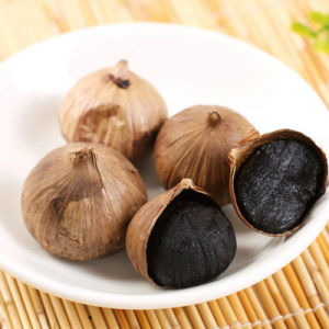 Natural Good Taste Fermented Peeled Single Black Garlic (1kg/bag) pictures & photos