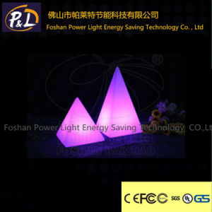 Decorative Lamp Glowing RGB Decor Pyramid LED Lamp pictures & photos