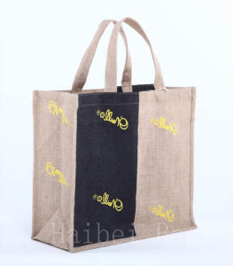 Environmental Protection Jute Hand Bag (hbjh-62) pictures & photos