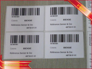 Printed Barcode Sticker Paper Barcode Label Sticker pictures & photos