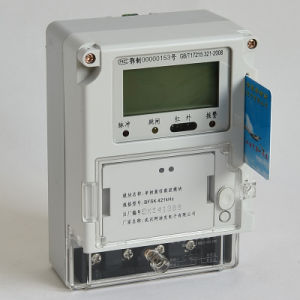 2015 Smart Single Phase Prepaid Electric Meter for Home Use pictures & photos