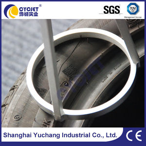 Fiber Laser Machine for Marking Qr Code on Tire pictures & photos