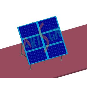 Solar Ground Mounting for Easy and Efficient Installation with 6 Panels pictures & photos