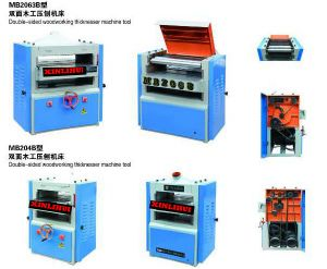 New Type Woodworking Planer Thicknesser with Spiral Plane Cutter/ 4 Head Cutter pictures & photos