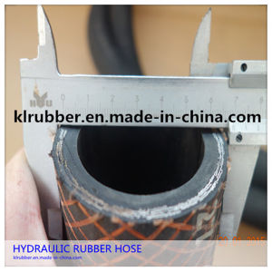 High Pressure Rubber Hydraulic Hose Made in China pictures & photos