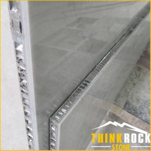 White Marble Stone-Aluminium Honeycomb Composite Wall Panel