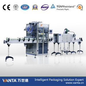 12000bph Automatic Sleeving Labeler Shrink Sleeve Labeling Machine