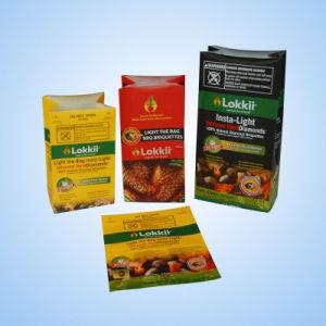 Plastic Quad Sealed Pet Food Bag (Block Bottom Style) pictures & photos
