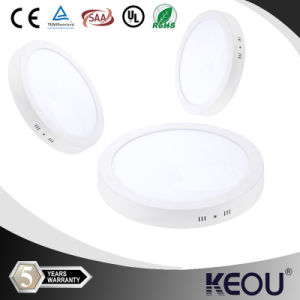 12 Watt 80lm/W Dimmable LED Round Panel Lamps pictures & photos