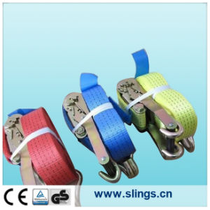 Logistic Straps with E Tracking Fitting and Aluminium Handle Ratchet pictures & photos
