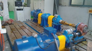 Cuwf Cone Worm Gear Reducer with Foot pictures & photos