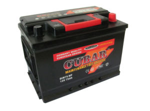 DIN75 12V75ah Mf Car Battery/ DIN75 Mf Auto Battery/Storage Battery pictures & photos