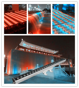 24 10W Waterproof RGBW LED Wall Washer Stage Light pictures & photos
