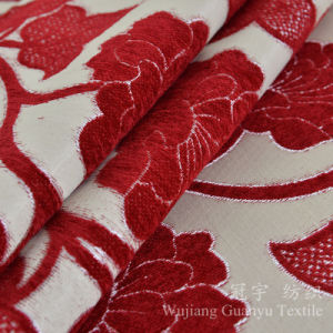 Jacquard Chenille Polyester and Acrylic Home Fabrics pictures & photos