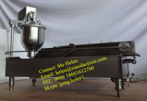 Commercial Donut Frying Machine/Small Donut Making Machine pictures & photos