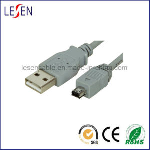 USB Cable, Am to Mini 4 Pin pictures & photos