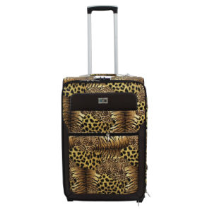 Animal Patent PU Leather Trolley Case pictures & photos