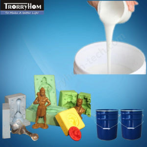 Liquid Silicone Rubber for Concrete Ornaments Mold Making pictures & photos