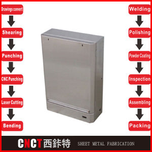 Custom Made Simple Sheet Metal Cabinet pictures & photos