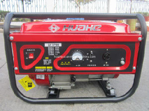 Red Portable Power Generator, Home Gasoline Generator (HH3000-A) pictures & photos
