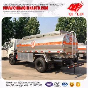 Gas Station Use 5cbm - 10cbm Aluminium Alloy Fuel Tank Truck pictures & photos