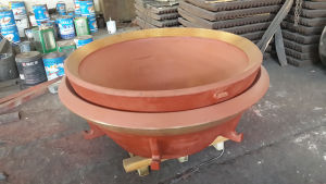 High Manganese Steel Cone Crusher Parts pictures & photos