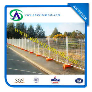 Austrlian&New Zeland Hot-Dipped Galvanized Temporary Fence pictures & photos