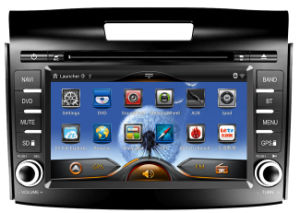 Car Pure Android 4.2 OS GPS Navigation DVD Player for Honda New CRV