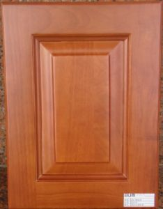 Solid Wood Kitchen Cabinet Door (#WD2012-51) pictures & photos