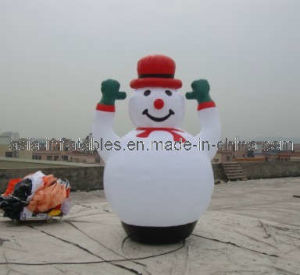 Snowman Cartoon Character Chriatmas Inflatables for Wholesale pictures & photos