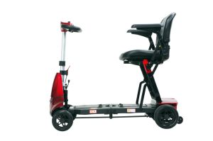 Four Wheels Compact Travel Foldable Scooter for The Disable pictures & photos