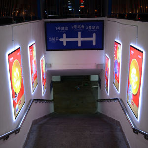 LED Billboard and LED Sign Board with Crystal Light Box pictures & photos