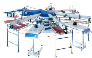 Multi-Color Automatic Rotating Screen Printing Machine (WPKY-5/7)