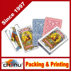 Printed Custom Advertising Playing Cards (430022) pictures & photos