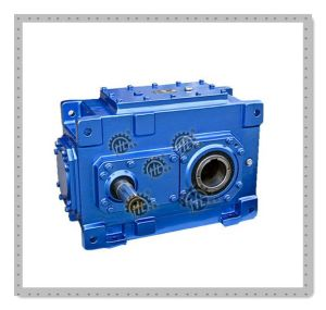 Hh Helical Parallel Gear Speed Reducer with Hollow Output Shaft pictures & photos