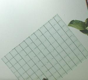 6mm 6.5mm Green Nashiji Patterned Wired Glass for The Safety Glass pictures & photos