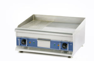 Counter Top Electric Griddle (Half Flat & Half Groove) Eg600-2 /Eg750-2 pictures & photos