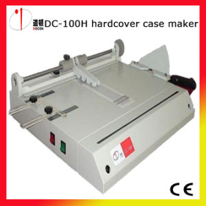 DC-100h A4 Hard Book Cover Case Maker Machine pictures & photos