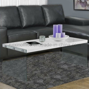 Modern Design Wood and Glass Home Furniture Coffee Table (Z160708-F) pictures & photos