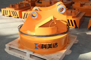 China Manufacturer of Scraps Lifting Magnet for Excavator pictures & photos