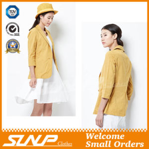 Classic Fashion Cotton/Linen Formal Girl′s Clothes