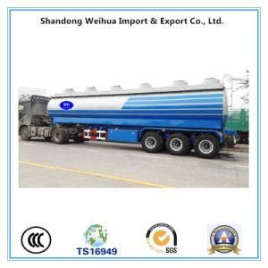 High Quality 45cbm Fule Tanker Trailer with 3 Axles pictures & photos