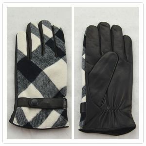 Lady Fashion Leather Gloves (JYG-25108) pictures & photos