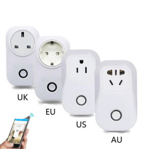 WiFi Smart Socket EU/Us/UK/Cn Plug with Remote Control pictures & photos