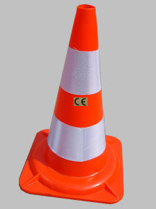 50cm Flexible Orange PVC Traffic Road Cone (LZ-205) pictures & photos