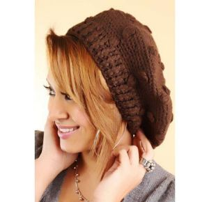 Beanie Hat Women Oversized (XT-B031) pictures & photos